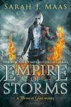 couverture Throne of Glass, Tome 5 : Empire of Storms