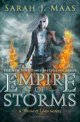 Couverture du livre : Throne of Glass, Tome 5 : Empire of Storms