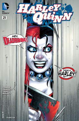 Couverture du livre : Harley Quinn (2013) #21