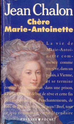 Couverture du livre : Chère Marie-Antoinette
