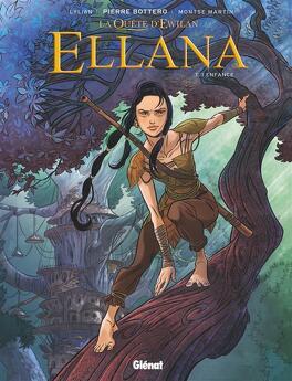 Couverture du livre : Ellana, Tome 1 : Enfance (BD)