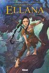 couverture Ellana, Tome 1 : Enfance (BD)