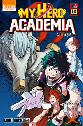Couverture du livre : My Hero Academia, Tome 3