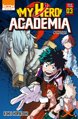 Couverture du livre : My Hero Academia, Tome 3 : All Might