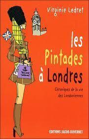 Couverture du livre : Les pintades à Londres : chroniques de la vie des Londoniennes, leurs adresses, leurs bons plans