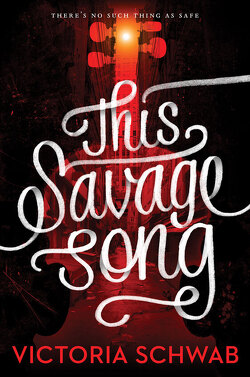 Couverture de Monsters of Verity, tome 1 : This Savage Song