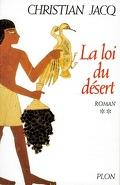 Le Juge d'Égypte, Tome 2 : La Loi du désert