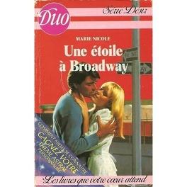 Couverture du livre : Une étoile à Broadway