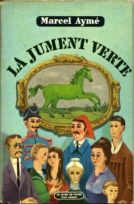Couverture du livre : La Jument verte