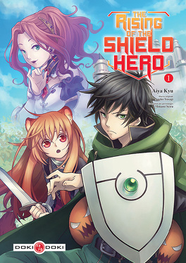 Couverture du livre : The Rising of the Shield Hero, Tome 1
