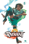 couverture Radiant, Tome 5