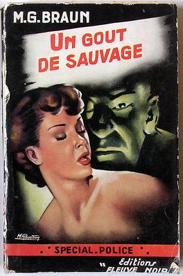 Couverture du livre : Un goût de sauvage