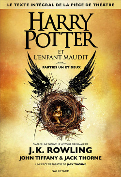 Couverture de Harry Potter et l'Enfant maudit