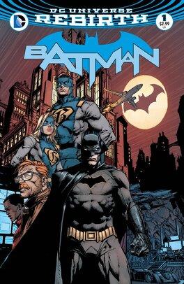 Couverture du livre : Batman (2016) #1