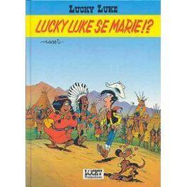 Couverture du livre : lucky luke, Lucky Luke se marie!?