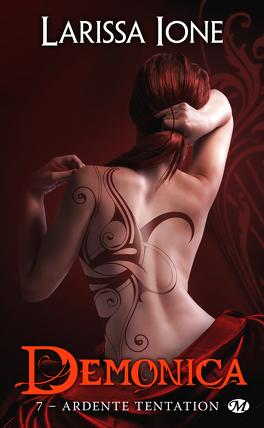 Couverture du livre : Demonica, Tome 7 : Ardente tentation