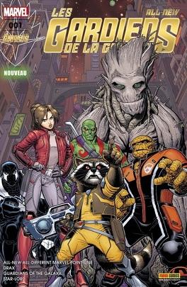Couverture du livre : All-New Les Gardiens de la Galaxie 1