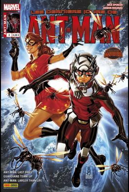 Couverture du livre : Ant-Man, Tome 4 : Les Derniers Jours