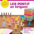 les post-it en kirigami