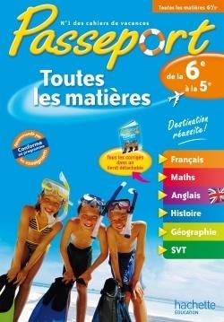 Passeport Toutes Les Matieres De La 6eme Vers La 5eme