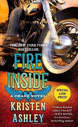 Couverture du livre : Chaos, Tome 2 : Fire Inside