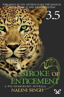 Couverture du livre : Psi-Changeling,Tome 3.5 - Blessure et tentation - Stroke of Enticement
