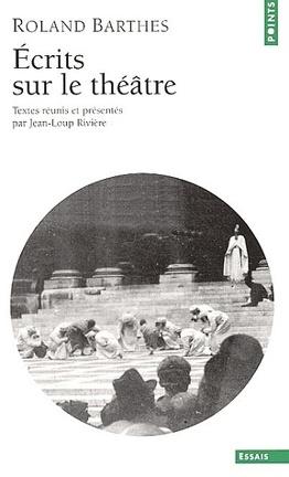Couverture du livre : Écrits sur le théâtre
