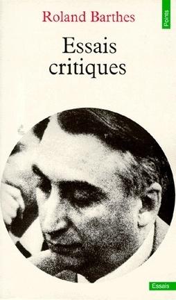 Couverture du livre : Essais critiques