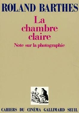 Couverture du livre : La Chambre claire : Note sur la photographie