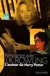couverture Rencontre avec J.K. Rowling