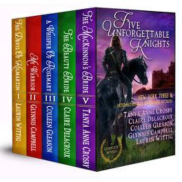 Couverture du livre : Five Unforgettable Knights (Anthologie)