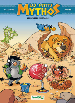 Couverture du livre : Les Petits Mythos, tome 7 : Les raclées d'Héraclès