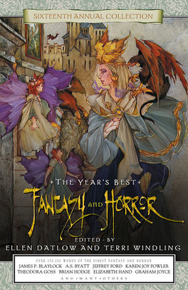 Couverture du livre : The Year's Best Fantasy and Horror, Tome 16 (année 2003)