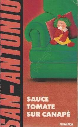 Couverture du livre : Sauce tomate sur canapé