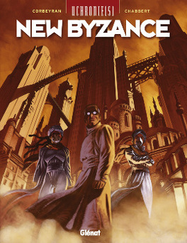 Couverture du livre : Uchronie[s] - New Byzance, tome 1 : Ruines