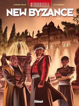 Couverture du livre : Uchronie[s] - New Byzance, tome 2 : Résistances