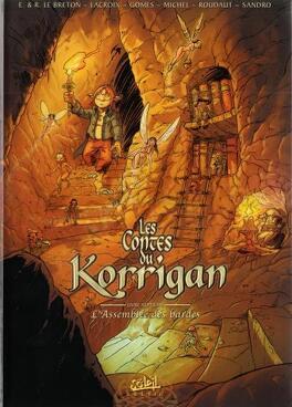 Couverture du livre : Les Contes du Korrigan, Tome 7 : L'Assemblée des Bardes