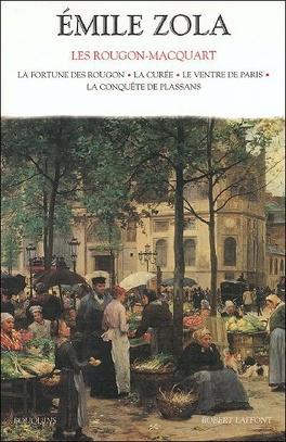 Couverture du livre : Les Rougon-Macquart, tome 1