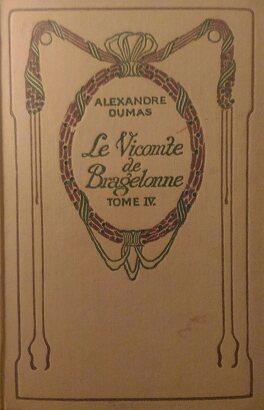 Couverture du livre : Le vicomte de Bragelonne, tome 4