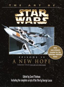 Couverture du livre : Star Wars Art of a new hope
