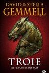 couverture Troie, Tome 3 : La Chute des rois
