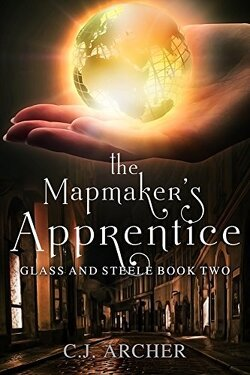 Couverture de Glass and Steele, Tome 2: The Mapmaker's Apprentice