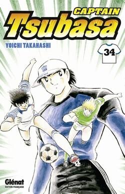 Couverture du livre : Captain Tsubasa, Tome 34