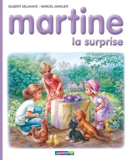 Couverture du livre : Martine la surprise