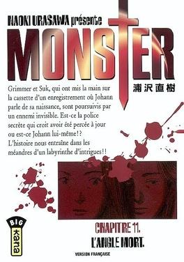 Couverture du livre : Monster, tome 11 : L'Angle mort
