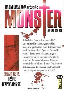 Couverture du livre : Monster, tome 18 : Scène d'apocalypse