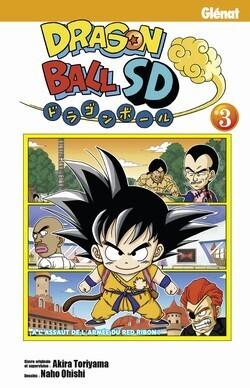 Couverture du livre : Dragon Ball SD, Tome 3