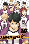 couverture Haikyū !! Les As du volley, Tome 18