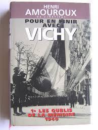 Couverture du livre : Pour en finir avec Vichy - Les Oubliés de la mémoire 1940