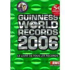 Couverture du livre : Guinness World Records 2006